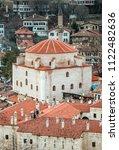 exterior view of cinci hamam in ... | Shutterstock . vector #1122482636