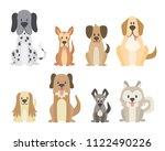 collection of different kinds... | Shutterstock .eps vector #1122490226