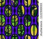 trendy seamless pattern in... | Shutterstock .eps vector #1122500033