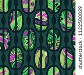 trendy seamless pattern in... | Shutterstock .eps vector #1122500039