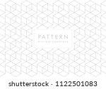 abstract geometric line minimal ... | Shutterstock .eps vector #1122501083