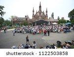 new york city   27 may 2018 ...   Shutterstock . vector #1122503858