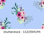 simple cute pattern in small... | Shutterstock . vector #1122504194