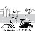 summer beach holiday. | Shutterstock .eps vector #112251374
