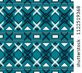 seamless blue and white pattern....   Shutterstock .eps vector #1122519368