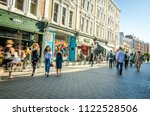 london  june  2018  shopping... | Shutterstock . vector #1122528506