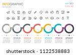 vector infographic template... | Shutterstock .eps vector #1122538883