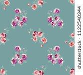 simple cute pattern in small... | Shutterstock .eps vector #1122540344