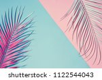 tropical bright colorful... | Shutterstock . vector #1122544043
