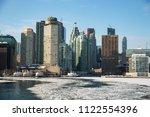 view of downtown toronto ... | Shutterstock . vector #1122554396