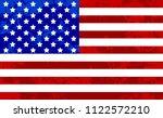 united states of america flag... | Shutterstock .eps vector #1122572210