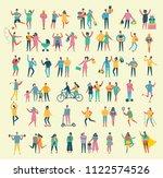 vector illustration in a flat...   Shutterstock .eps vector #1122574526