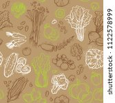 vector seamless pattern with... | Shutterstock .eps vector #1122578999