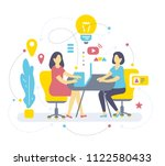 vector color illustration of... | Shutterstock .eps vector #1122580433
