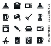 set of simple vector isolated... | Shutterstock .eps vector #1122587603