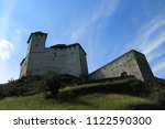 gutenberg castle in balzers... | Shutterstock . vector #1122590300