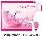 illustration love and valentine ... | Shutterstock .eps vector #1122609383