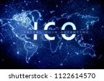 2d illustration ico initial... | Shutterstock . vector #1122614570