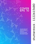 vector cover page layout.... | Shutterstock .eps vector #1122615680