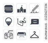 premium outline  fill icons set ... | Shutterstock .eps vector #1122627236