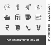 modern  simple vector icon set... | Shutterstock .eps vector #1122631214