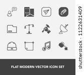 modern  simple vector icon set... | Shutterstock .eps vector #1122631409