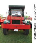 Small photo of Brooklyn, Connecticut / USA - June 24 2018: A 1938 Mack FJ on display at Brooklyn Fairgrounds for the ATHS Nutmeg Chapter Antique Truck Show