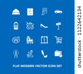 modern  simple vector icon set... | Shutterstock .eps vector #1122642134