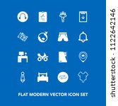 modern  simple vector icon set... | Shutterstock .eps vector #1122642146