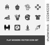 modern  simple vector icon set...   Shutterstock .eps vector #1122642233