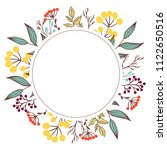 spring and summer floral... | Shutterstock . vector #1122650516