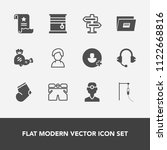 modern  simple vector icon set...   Shutterstock .eps vector #1122668816
