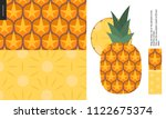 food patterns   fruit  vector...   Shutterstock .eps vector #1122675374