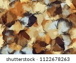 brushed painted abstract... | Shutterstock . vector #1122678263