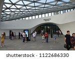moscow  russia   june 23  2018  ... | Shutterstock . vector #1122686330