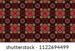 light pattern kaleido   Shutterstock . vector #1122694499