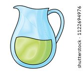 lemonade pitcher icon | Shutterstock .eps vector #1122694976
