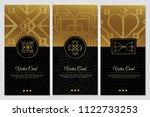 template gold luxury vector... | Shutterstock .eps vector #1122733253