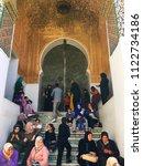 sidi boumediene mosque  tlemcen ... | Shutterstock . vector #1122734186