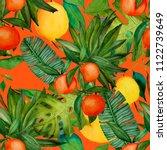 watercolor seamless pattern...   Shutterstock . vector #1122739649