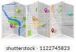 design art map | Shutterstock .eps vector #1122745823