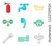 upgrade icons set. cartoon set...   Shutterstock . vector #1122759524