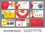 abstract presentation templates ... | Shutterstock .eps vector #1122777770