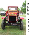 Small photo of Brooklyn, Connecticut / USA - June 24 2018: A 1927 Mack AB on display at the Brooklyn fairgrounds for the ATHS Nutmeg Chapter Truck Show