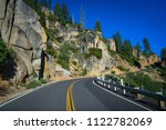 curving sonora pass road along... | Shutterstock . vector #1122782069