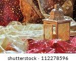 Lantern In Patterned Fabrics...
