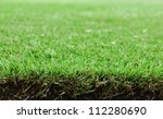 golf green grass surface | Shutterstock . vector #112280690