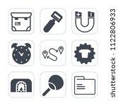 premium outline  fill icons set ... | Shutterstock .eps vector #1122806933