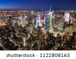 new york city  ny  usa   mach... | Shutterstock . vector #1122808163