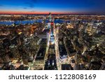 new york city  ny  usa   mach... | Shutterstock . vector #1122808169